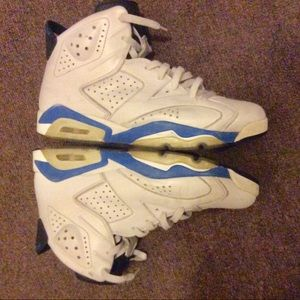 jordan 6 sport blue men size 10.5